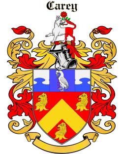 CAREY family crest