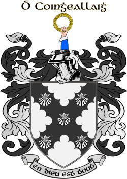 CONNOLLY family crest