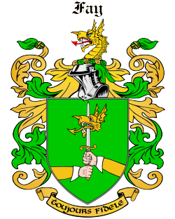 FAY family crest