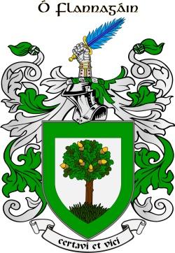FLANAGAN family crest
