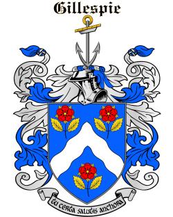 GILLESPIE family crest