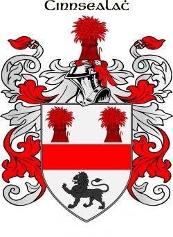 Kinsella family crest