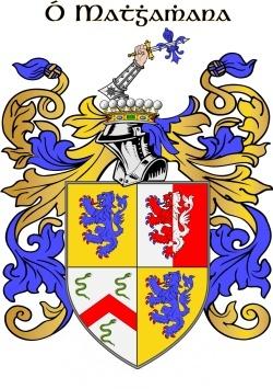 Mahony family crest