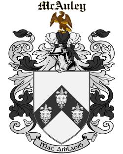 MCAULEY family crest