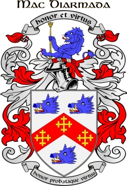 MCDERMOTT family crest