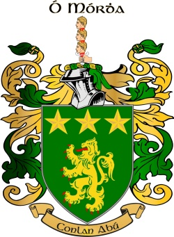 MOORE family crest