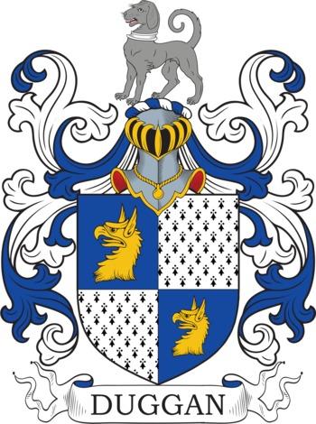 DUGAN family crest