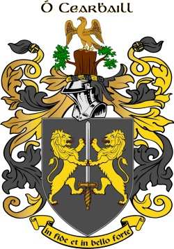 CARROLL family crest