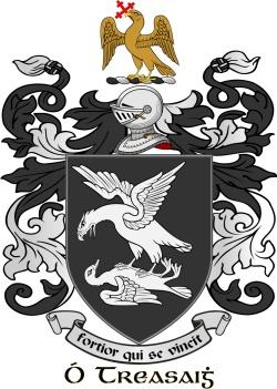 TREACY family crest